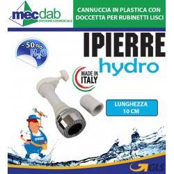 Cannuccia in Plastica con Doccetta per Rubinetti Lisci Made in Italy IPIERRE HYDRO
