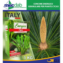 Concime Energico Granulare Made in Italy per Piante Cycas 1Kg