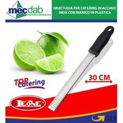 Grattugia per Catering in Acciaio inox con Manico in Plastica 30 Cm T5402 Leone