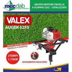 Mototrivella a Scoppio 2 Tempi 52cc Catalizzato Valex Auger 52F5