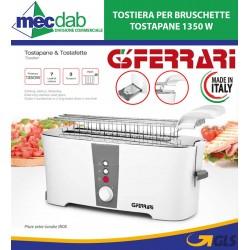 Bruschettiera Tostapane 1350 W In Acciaio Inox G3 FERRARI G10067