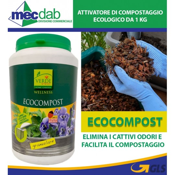 Compostiere Eco Granulare Elimina i Cattivi Odori 1 Kg Wellness