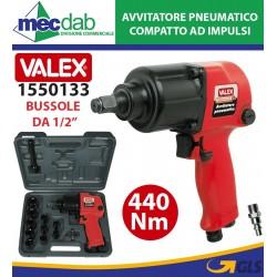 """Avvitatore Pneumatico Ad Impulsi Bussola 1/2"""" 440Nm Valex 1550133"""