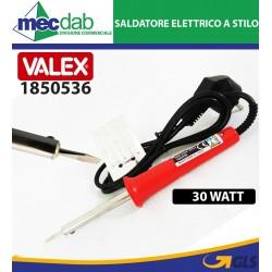 Saldatore Elettrico a Stilo Punta Dritta 30 Watt Valex 1850536