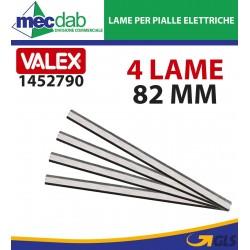 Lama Stradata Per Pialle Elettriche 82 mm Kit da 4 Pezzi