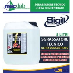 Sgrassatore Tecnico Ultra Concentrato Sigill Tanica 5 LT