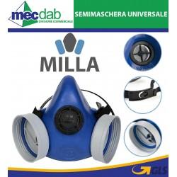 Semimaschera Universale Due Filtri Euromask Mila EN41640