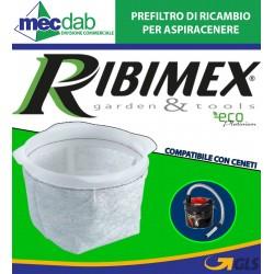 Prefiltro di Ricambio per Aspiracenere Compatibile con Ceneti PRCEN009/F Ribimex