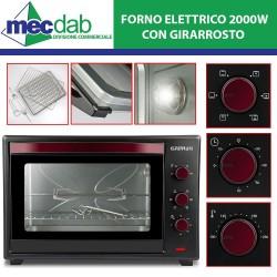 Forno Elettrico Ventilato con Girarrosto 60L 2000 W Il Moro 60 Ferrari