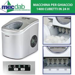 Fabbricatore di Ghiaccio a Cubetti 1400 Cubetti in 24H 700 Grammi G3 Ferrari
