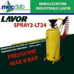 Nebulizzatore Industriale Spray 2-LT24 in Acciaio Verniciato 24 L P. 8 bar Lavor