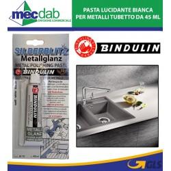 Bindulin Pasta Lucidante Bianca per Metalli Tubetto da 45 ml