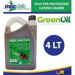 Olio Lubrificante Protettivo Per Catene Tanica 4 LT Green Chain Plus