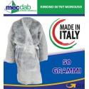 Kimono in TNT Monouso Made in Italy 50 Gr Taglia unica