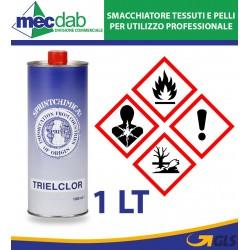Trattamento Per Ossido Trielclor Sgrassante 1LT Smacchiante Per Tessuti e Pellame