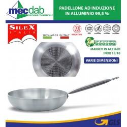 Padellone Da Chef In Alluminio Puro al 99,5% Ad Induzione Doppio Fondo Selex