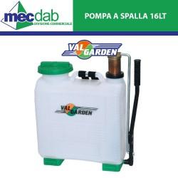 Pompa Irroratore a Spalla 16 LT in PVC Getto Regolabile