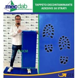 Tappeto Decontaminante Adesivo 30 Strati 115x45 Cm