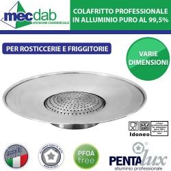 Colafritto Professionale In Alluminio Puro 99,5% Pentalux Varie Dimensioni