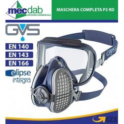 Maschera Respiratoria Completa Di Visiera Ultra Compatto A1 P3 RD Elipse Integra GVS