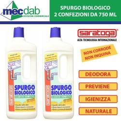 Spurgo Biologico Scarichi Domestici Saratoga 750 ml Confezione da 2 PZ