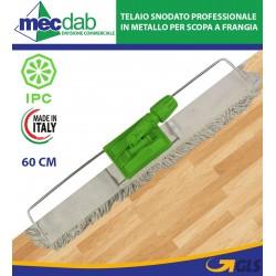 Telaio Snodato Professionale in Metallo per Scopa a Frangia  60 Cm