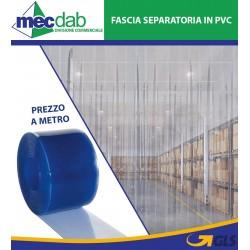Fascia Separatrice In PVC Trasparente Per Magazzini e Supermercati e Laboratori