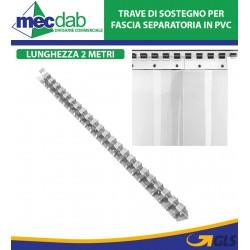 Binario Di Fissaggio Per Strisce Separatorie In PCV Barra Da 2 MT