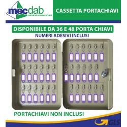 Cassetta Portachiavi in Acciaio 36 / 48 Posti Verniciatura Epossidica