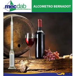 Alcometro Misuratore Di Alcol Nel Vino Bernadot Tascabile Con Astuccio 13 Cm