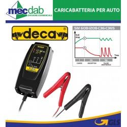 Caricabatteria Automatico Deca SM C36-12V Batterie Auto Moto Fino a 75Ah