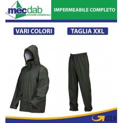Impermeabile In PVC Completo Di Cappuccio Taglia XXL Vari Colori