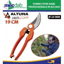 Forbici Pota Rami Professionale In Acciaio 19 Cm Lama Max Ø 24 mm Altuna