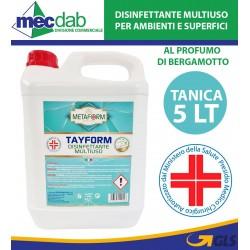 Disinfettante Multiuso Detergente e Deodorante Tanica 5 LT Tayform