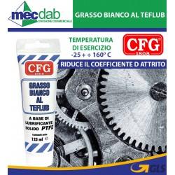 Grasso Lubrificante Solido Bianco Al Teflub CFG Tubetto Da 125 ML