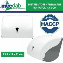 Distributori Carta Mani Rotolo da 13,5 Cm Modello Capri H.A.C.C.P