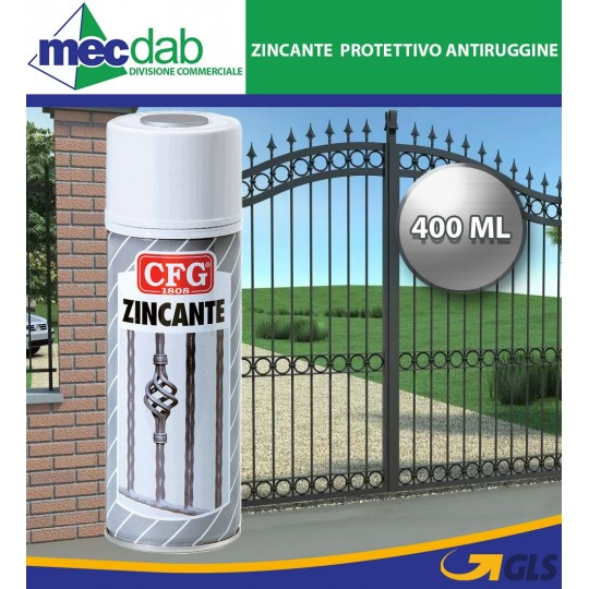 Zincante Protettivo Antirugine Spray da 400 ML CFG
