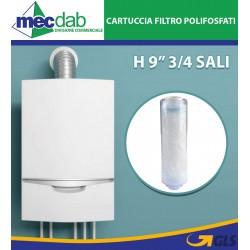 """Cartuccia Filtro Polifosfati H9"""" 3/4 Sali Durata 6 Mesi Anticalcare"""