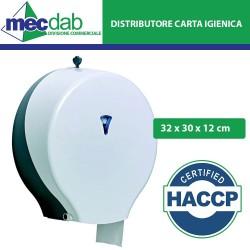 Distributore di Carta Igienica Maxi - Dispenser Modello Jumbo H.A.C.C.P