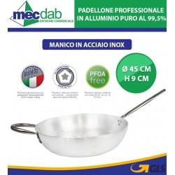Padellone Professionale In Alluminio Puro Pentalux Ø 45 Cm