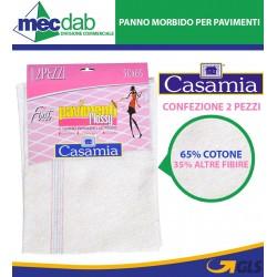 Panno Pavimenti in Cotone Morbida  50 x 65 2 Confezione 2 Pezzi