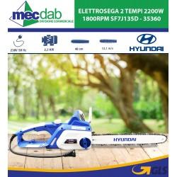 Elettrosega 2 Tempi 2200W 1800RPM Hyundai SF7J135D - 35360