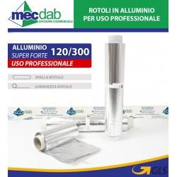 Rotolo in Alluminio Professionale Super Forte Alupack Varie Dimensioni
