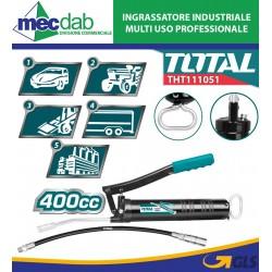 Ingrassatore Manuale Industriale a Leva Da 400cc Total THT111051