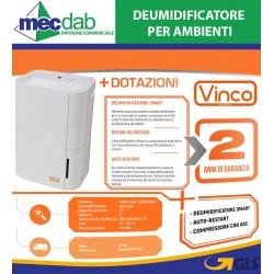 Deumidificatore per Ambienti 440W  20l / 24h MDDF-20DEN7-QA3 Vinco
