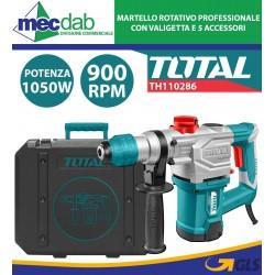 Martello Demolitore Rotativo SDS 1050W Con valigetta e Punte Total TH110286