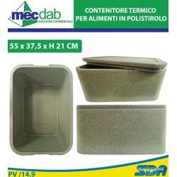 Box Contenitore Termico in Polistirolo Per Mozzarelle Carne Pesce Ecc..