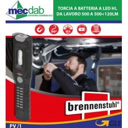 Torcia a batteria a LED HL da lavoro 500 A 500+120lm Brennenstuhl