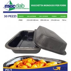 Vassioio Contenitore Per Forno Microonde 2/3 Porzioni 215 x 145 H38 mm