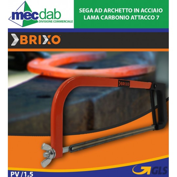 Sega ad Archetto in Acciaio Lama Carbonio Attacco 7 mm Brixo
